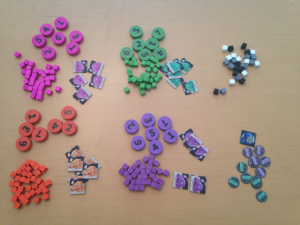 Pieces and tokens